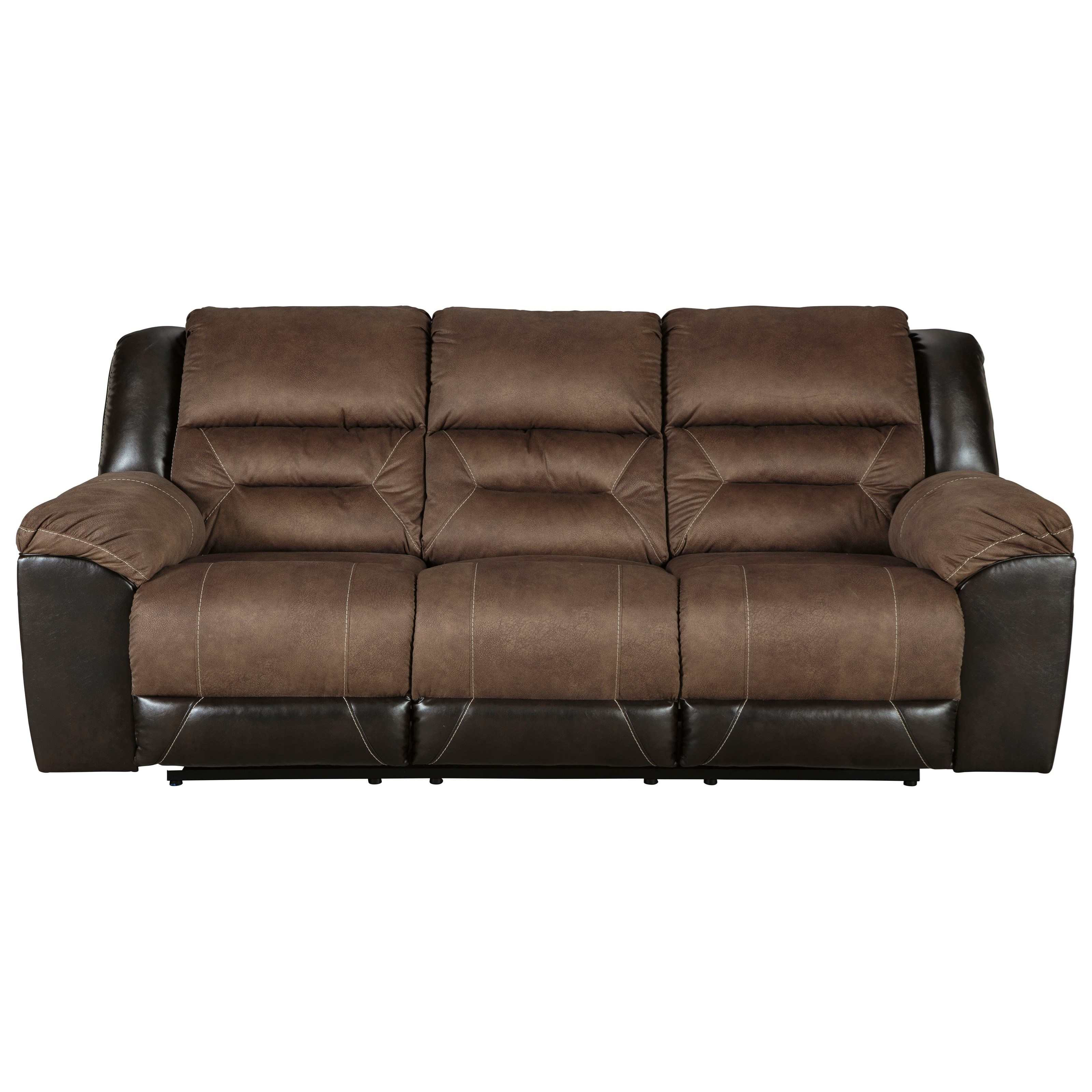 StyleLine DALLAS 2910188 Casual Reclining Sofa With Pillow