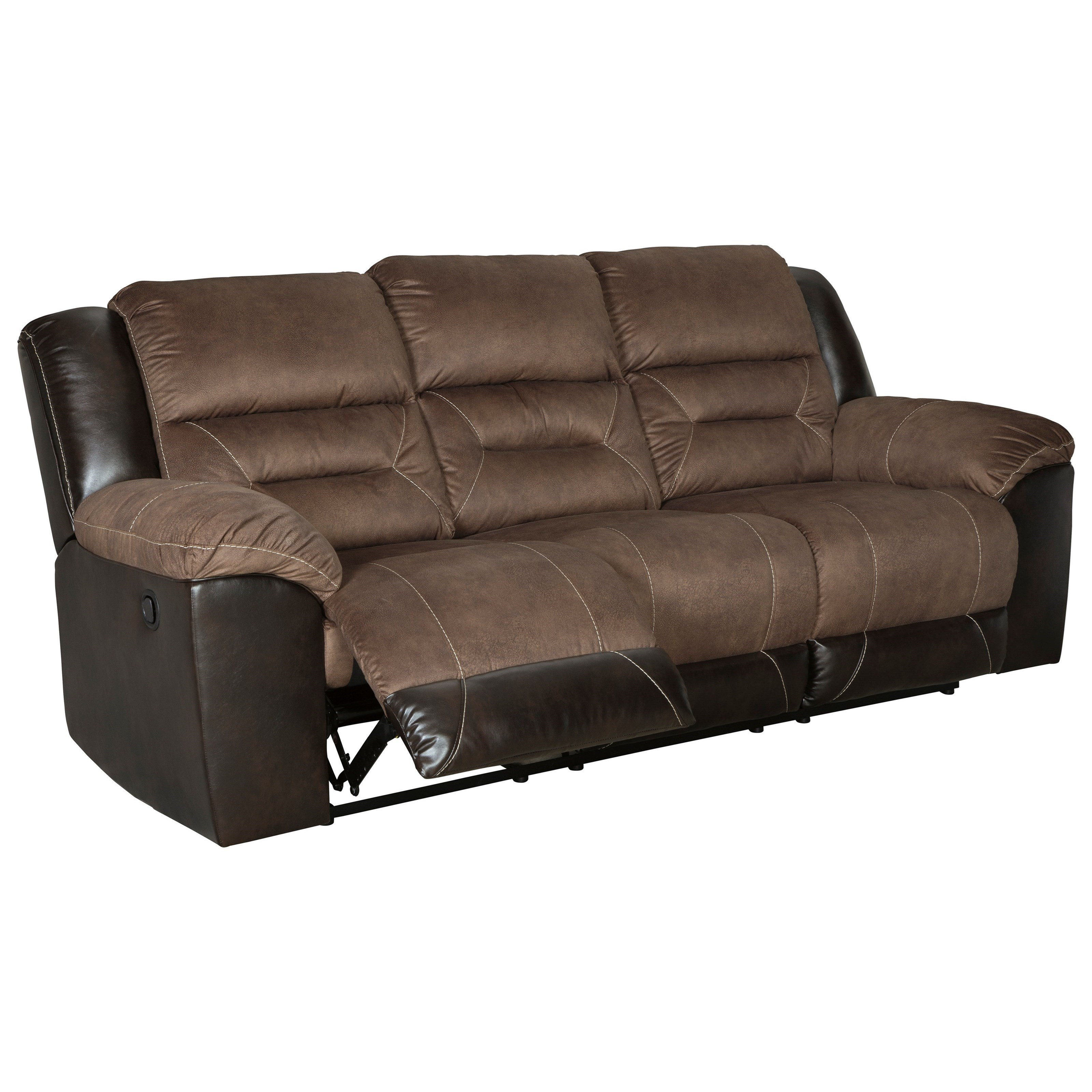 Ashley Furniture Outlet Dallas: StyleLine DALLAS 2910188 Casual Reclining Sofa With Pillow