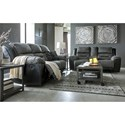 Signature Design by Ashley Earhart Reclining Living Room Group - Item Number: 29102 Living Room Group 1