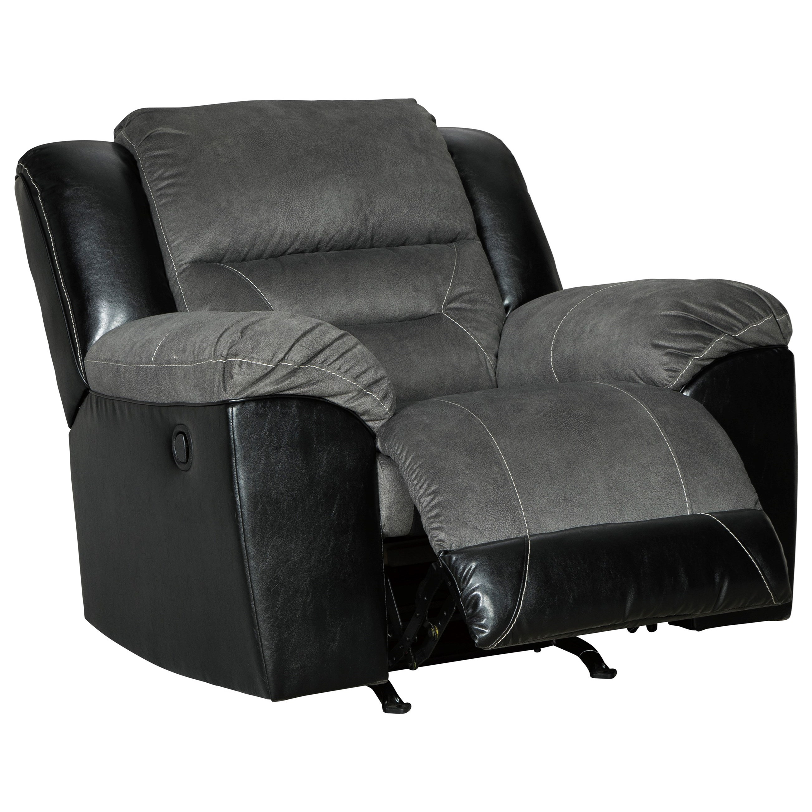 Signature Design By Ashley Earhart Casual Rocker Recliner