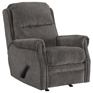 Signature Design by Ashley Furniture Earles Rocker Recliner