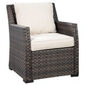 Signature Design by Ashley Easy Isle Lounge Chair w/ Cushion - Item Number: P455-820
