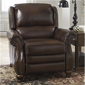 Signature Design by Ashley Elberton DuraBlend® Low Leg Recliner