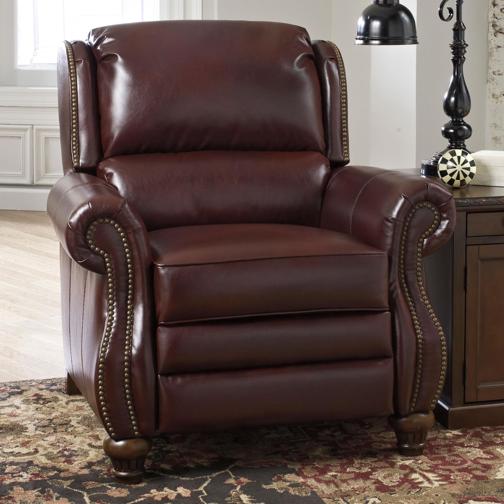 Signature Design by Ashley Elberton DuraBlend® Low Leg Recliner - Item Number: 2060130