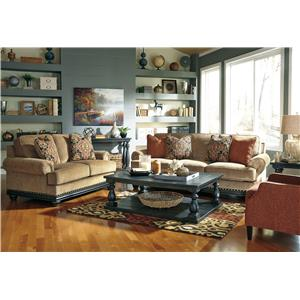 Signature Design by Ashley Elnora Stationary Living Room Group