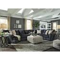 Signature Design by Ashley Eltmann Stationary Living Room Group - Item Number: 41303 Living Room Group 4