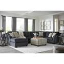 Signature Design by Ashley Eltmann Stationary Living Room Group - Item Number: 41303 Living Room Group 5