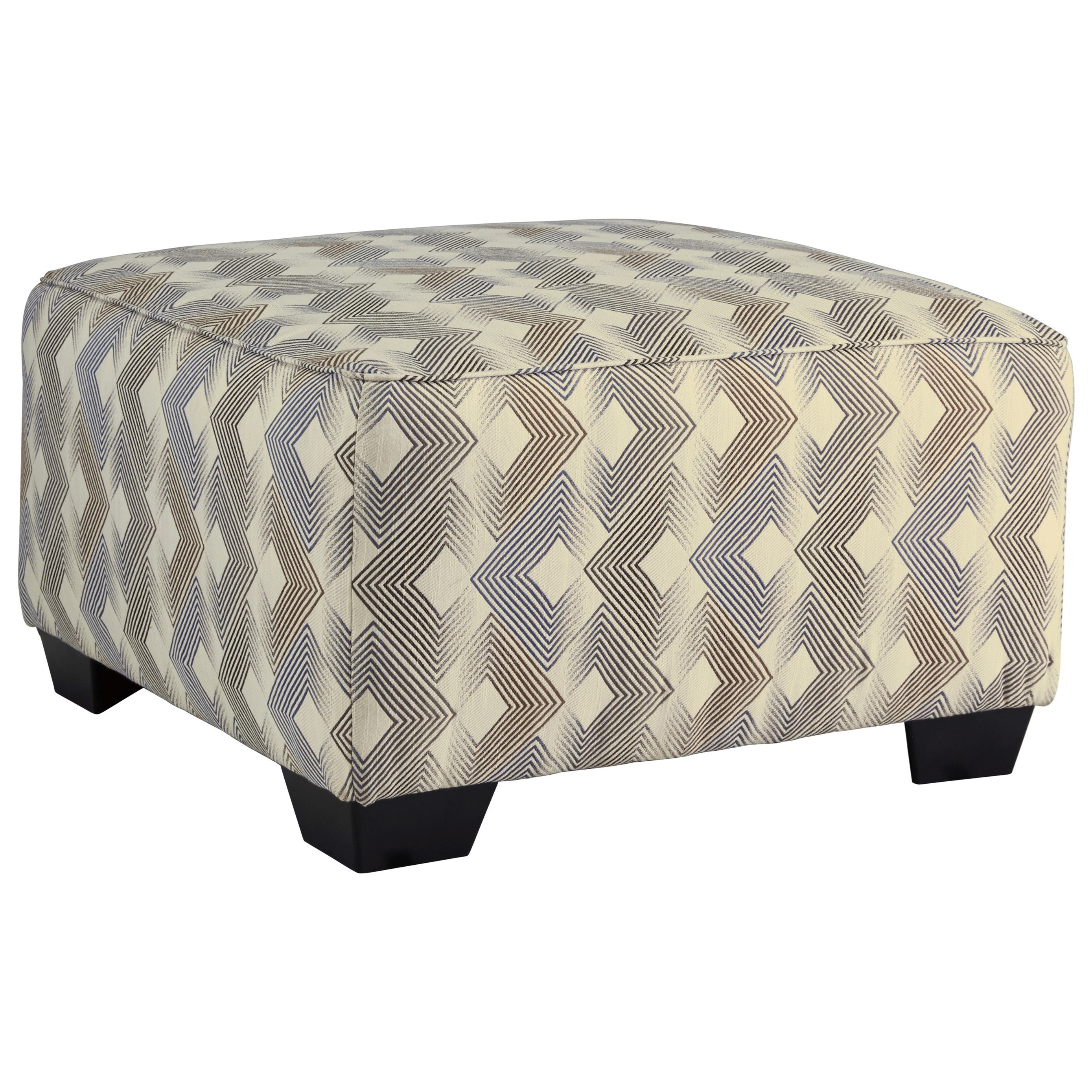 Eltmann Oversized Accent Ottoman by StyleLine at EFO Furniture Outlet