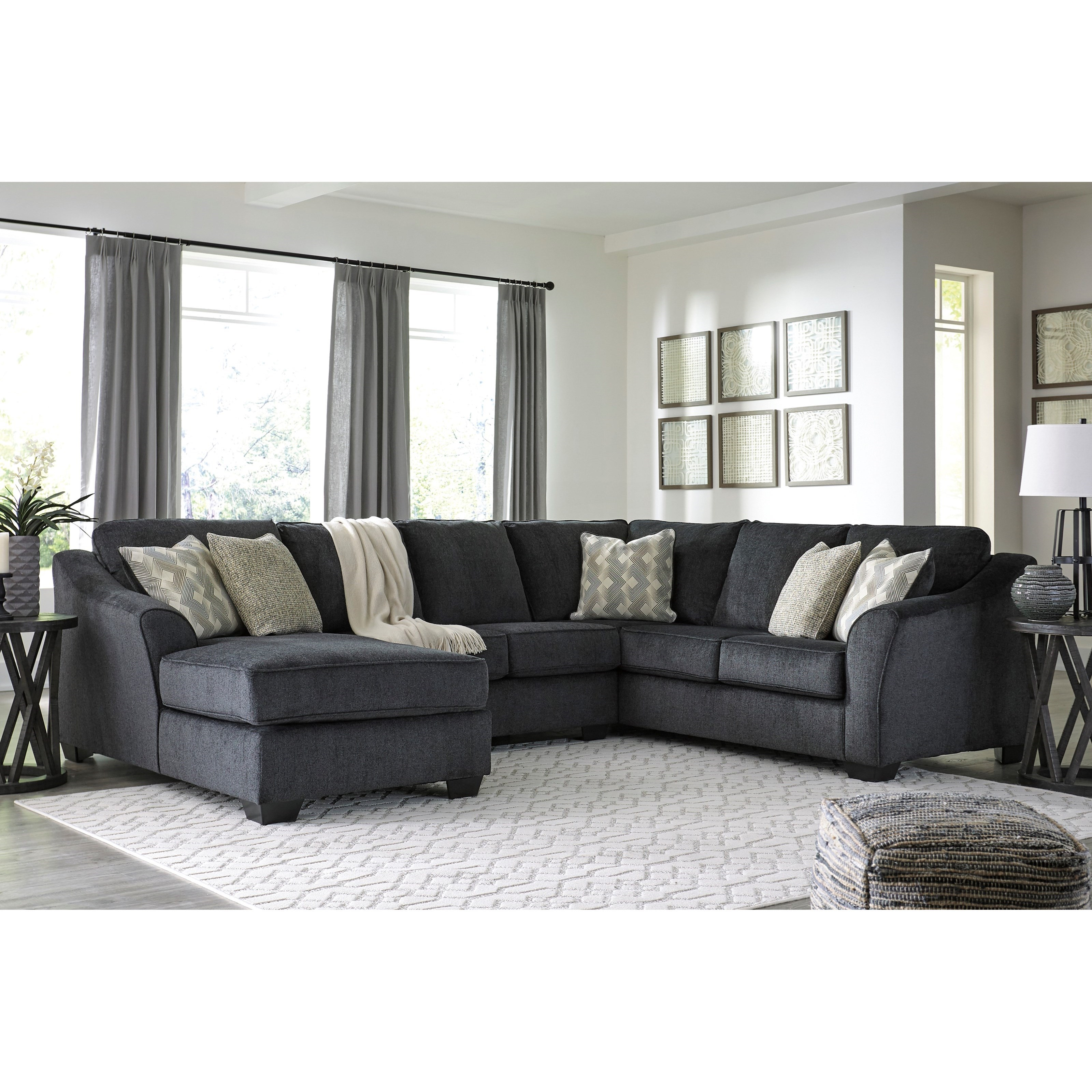 Furniture Fair North Carolina: Signature Design By Ashley Eltmann 3 Piece Sectional With
