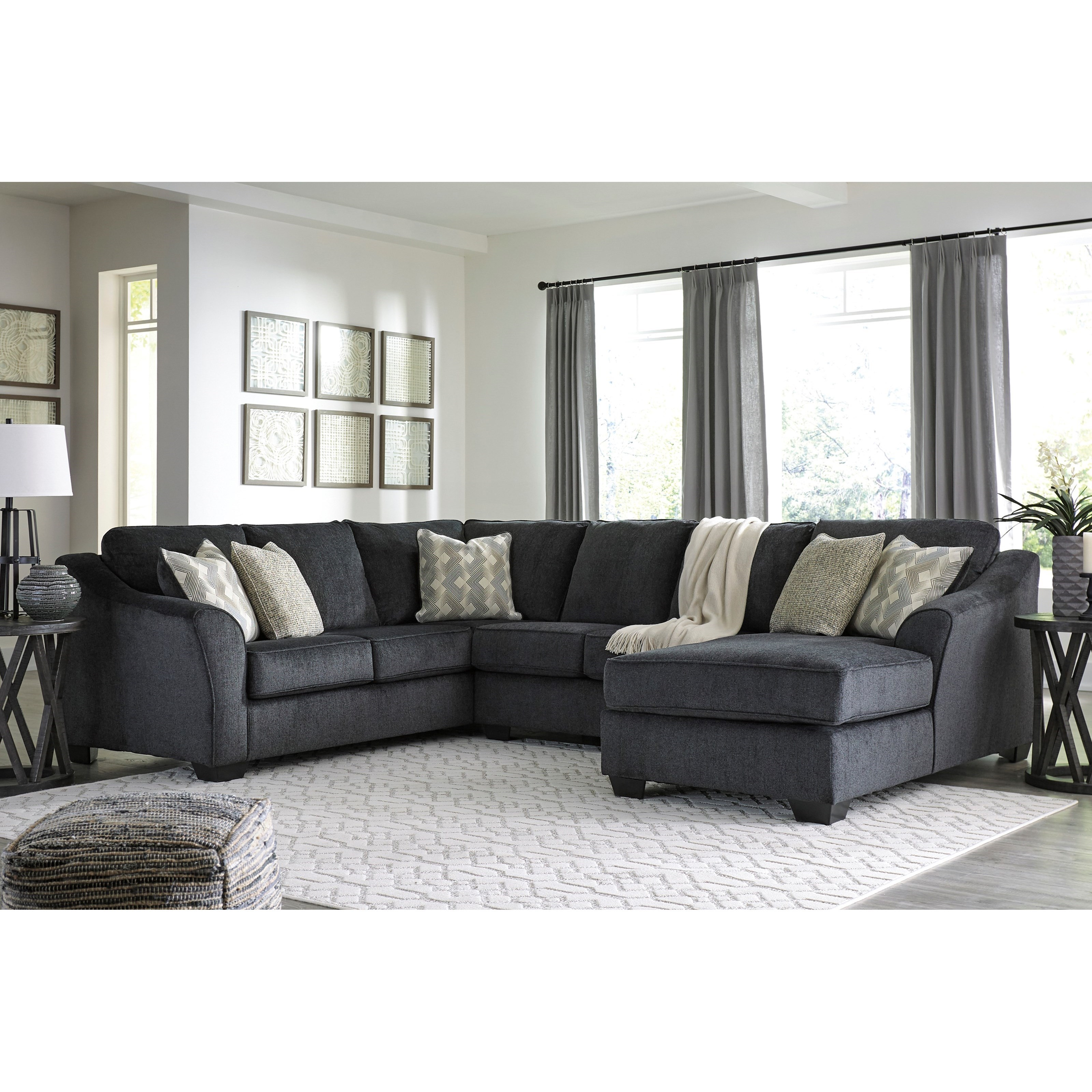 Signature Design By Ashley Eltmann 3 Piece Sectional With