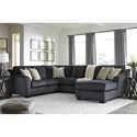 Signature Design by Ashley Eltmann 3-Piece Sectional with Right Chaise