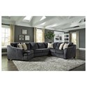 Signature Design by Ashley Eltmann 3-Piece Sectional with Left Cuddler