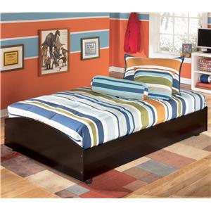 Signature Design by Ashley Embrace Twin Loft Caster Bed