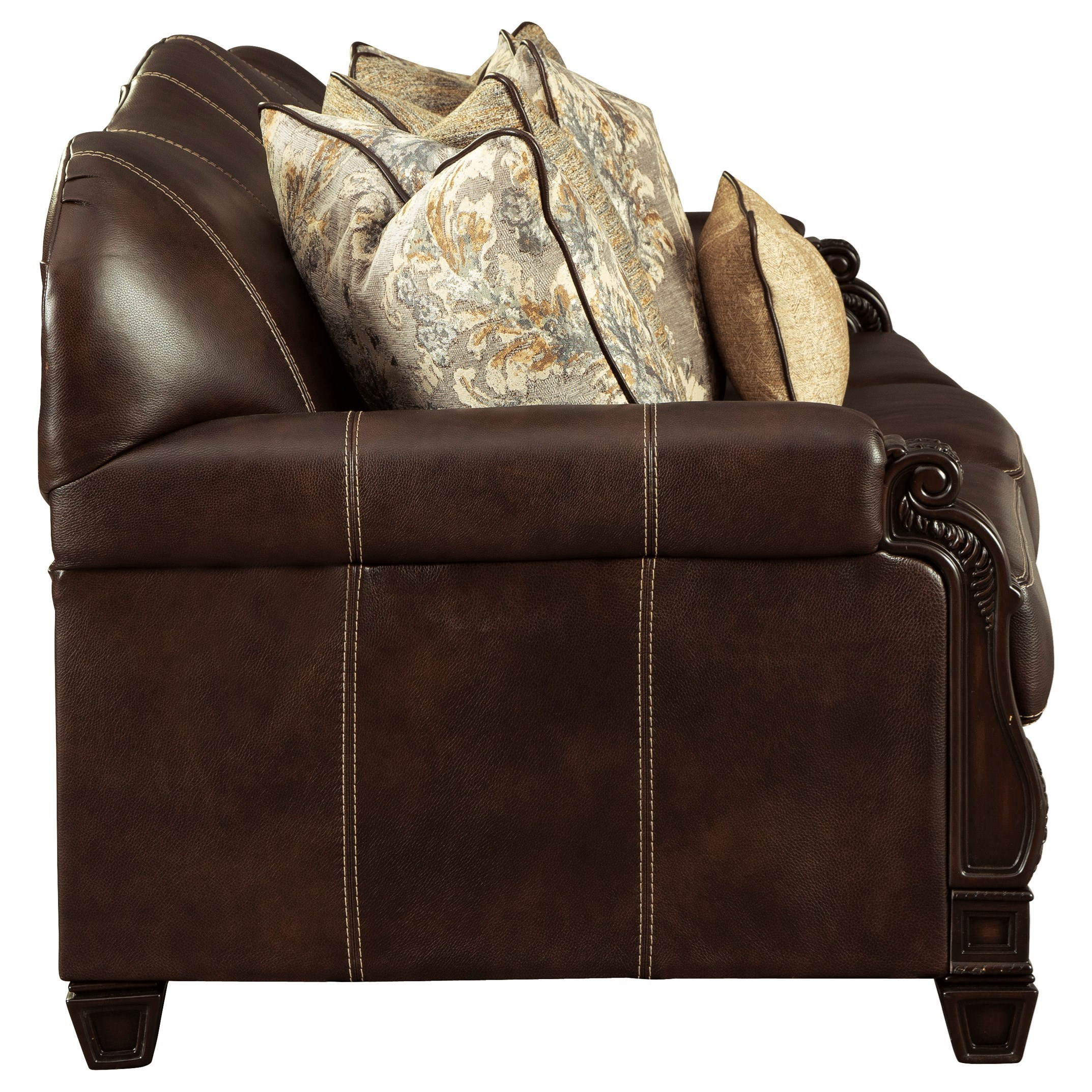 Signature Design by Ashley Embrook Traditional Sofa   A1 ...
