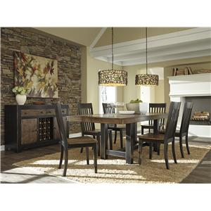 Signature Design by Ashley Emerfield Casual Dining Room Group