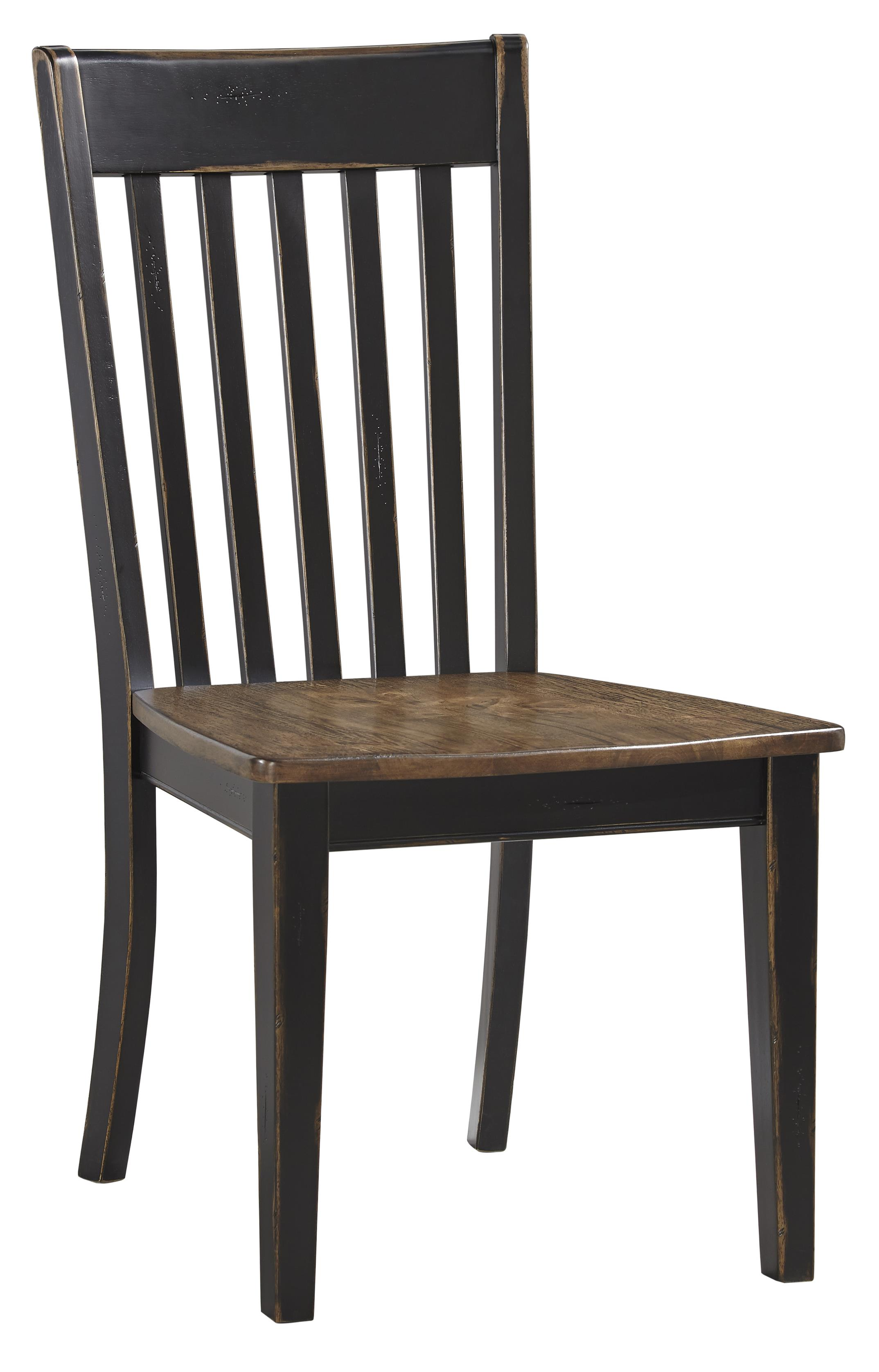 Signature Design by Ashley Emerfield Dining Room Side Chair - Item Number: D563-01