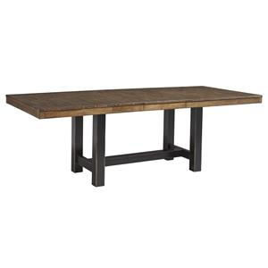 Signature Design by Ashley Emerfield Rectangular Dining Room Extension Table