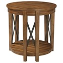 Signature Design by Ashley Emilander Round End Table - Item Number: T433-6