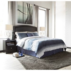 Signature Design by Ashley Emmafield Queen/Full Bedroom Group
