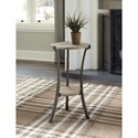 Signature Design by Ashley Enderton Contemporary Accent Table