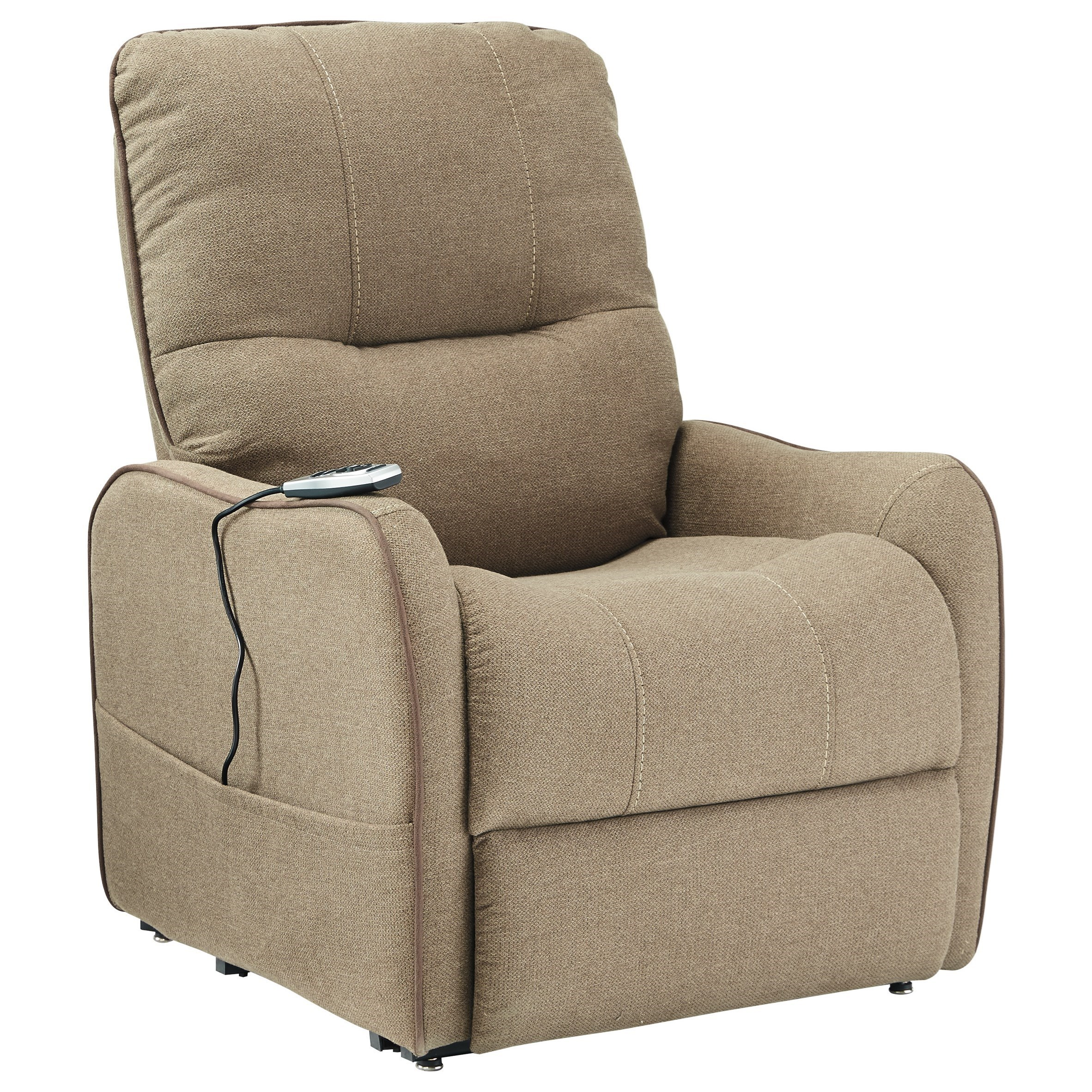 Signature Design by Ashley Enjoy Power Lift Recliner - Item Number: 2190212