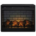 Signature Design by Ashley Entertainment Accessories Large Fireplace Insert - Item Number: W100-121
