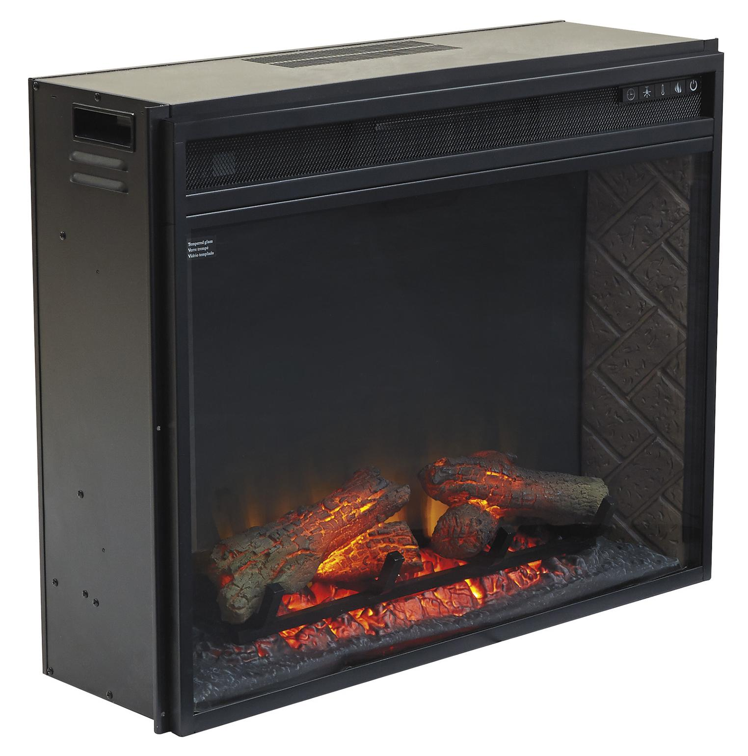 Signature Design by Ashley Entertainment Accessories Large Fireplace Insert Infrared - Item Number: W100-21