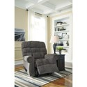 Signature Design by Ashley Ernestine Rocker Recliner with Rolled Arms