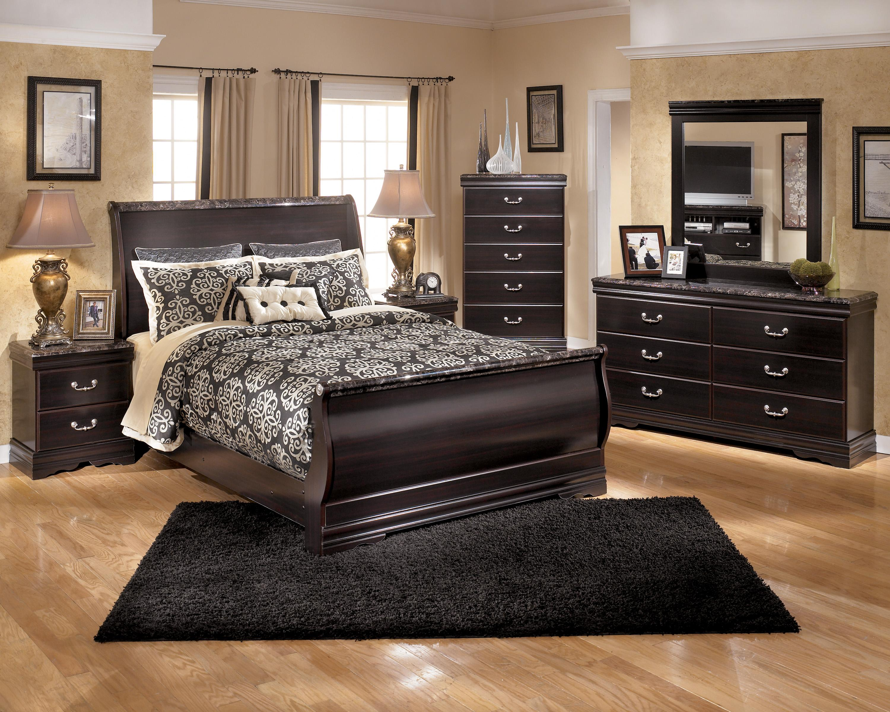 Signature Design by Ashley Esmarelda Queen Bedroom Group - Item Number: B179 Q Bedroom Group 1