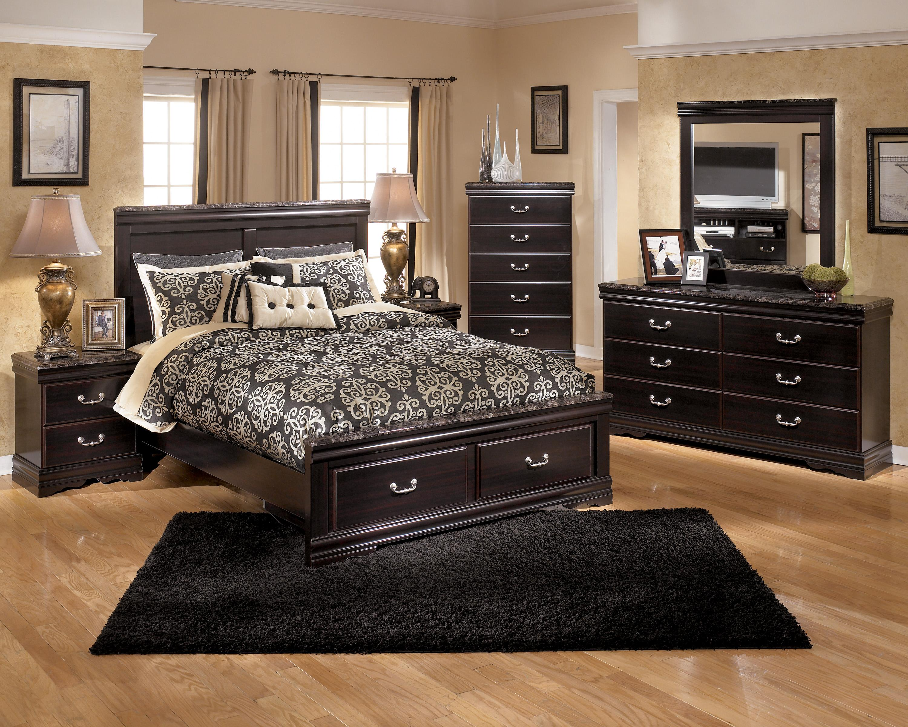 Signature Design by Ashley Esmarelda Queen Bedroom Group - Item Number: B179 Q Bedroom Group 2