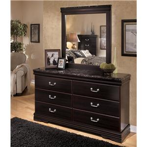Signature Design by Ashley Esmarelda Dresser & Mirror