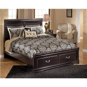 Signature Design by Ashley Esmarelda Queen Storage Bed