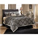 Signature Design by Ashley Esmarelda Queen Sleigh Headboard - Item Number: B179-77