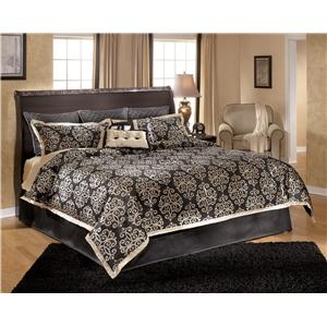 Signature Design by Ashley Esmarelda King Sleigh Headboard