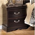 Signature Design by Ashley Esmarelda Night Stand  - Item Number: B179-92