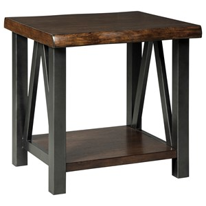 Signature Design by Ashley Esmarina Rectangular End Table