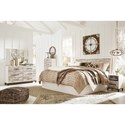 Signature Design by Ashley Evanni King Bedroom Group