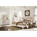 Signature Design by Ashley Evanni King Bedroom Group - Item Number: B315 K Bedroom Group 3