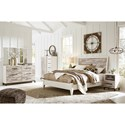 Signature Design by Ashley Evanni Queen Bedroom Group - Item Number: B315 Q Bedroom Group 3
