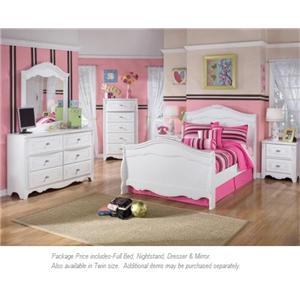 Signature Design by Ashley Exquisite 4-PC Full Bedroom