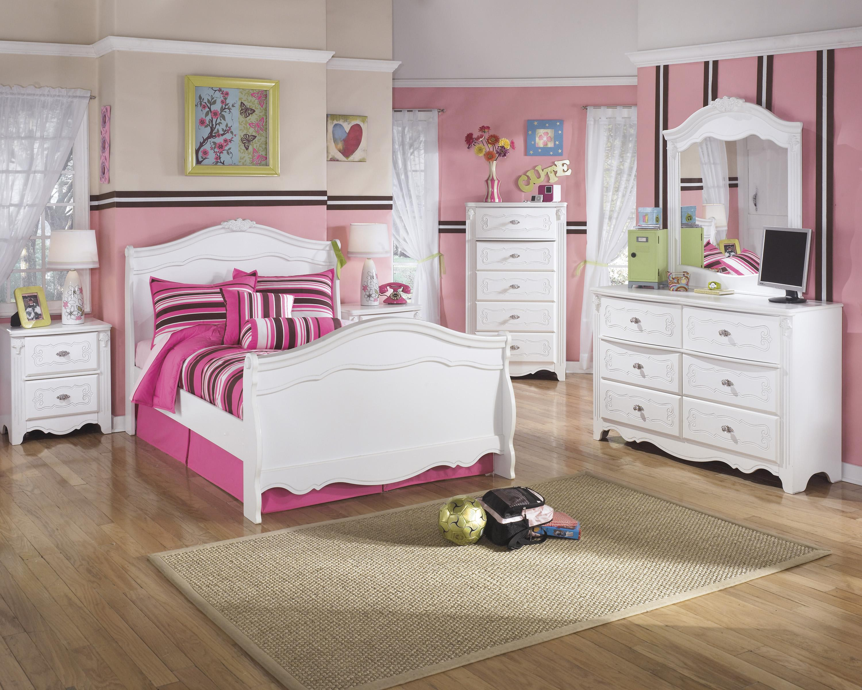 Signature Design by Ashley Exquisite Full Bedroom Group - Item Number: B188 F Bedroom Group 1