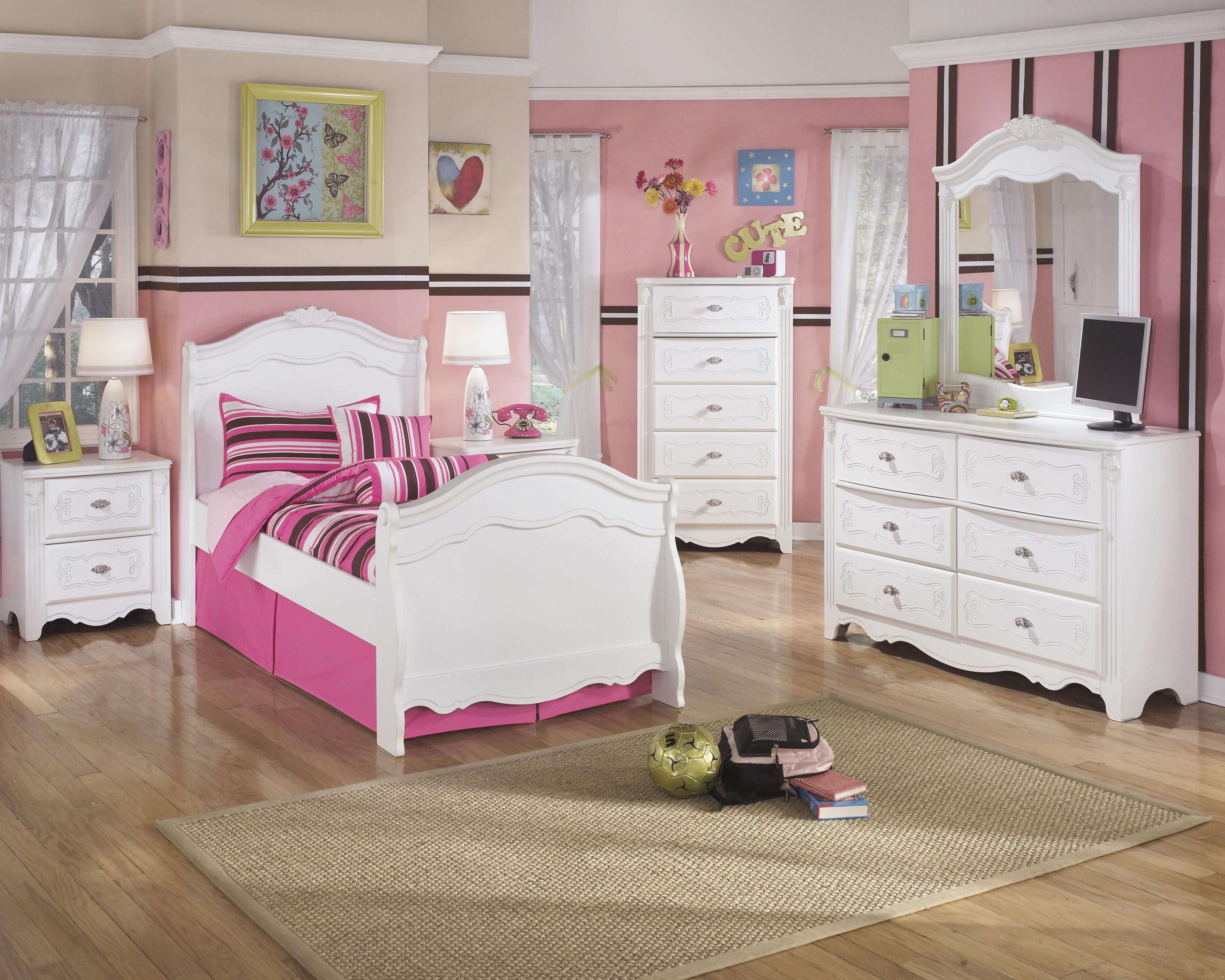 Signature Design by Ashley Exquisite Twin Bedroom Group - Item Number: B188 T Bedroom Group 1