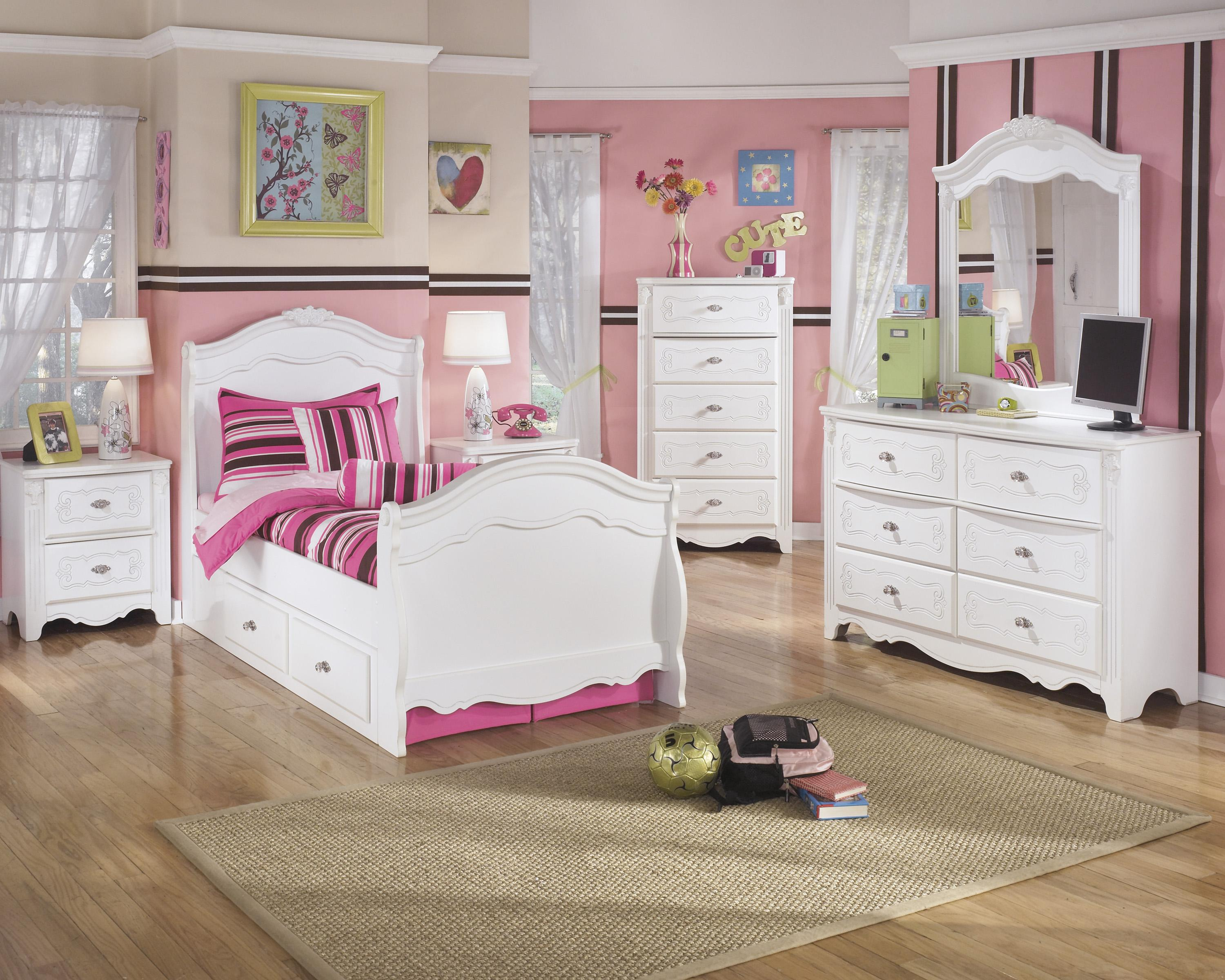 Signature Design by Ashley Exquisite Twin Bedroom Group - Item Number: B188 T Bedroom Group 2
