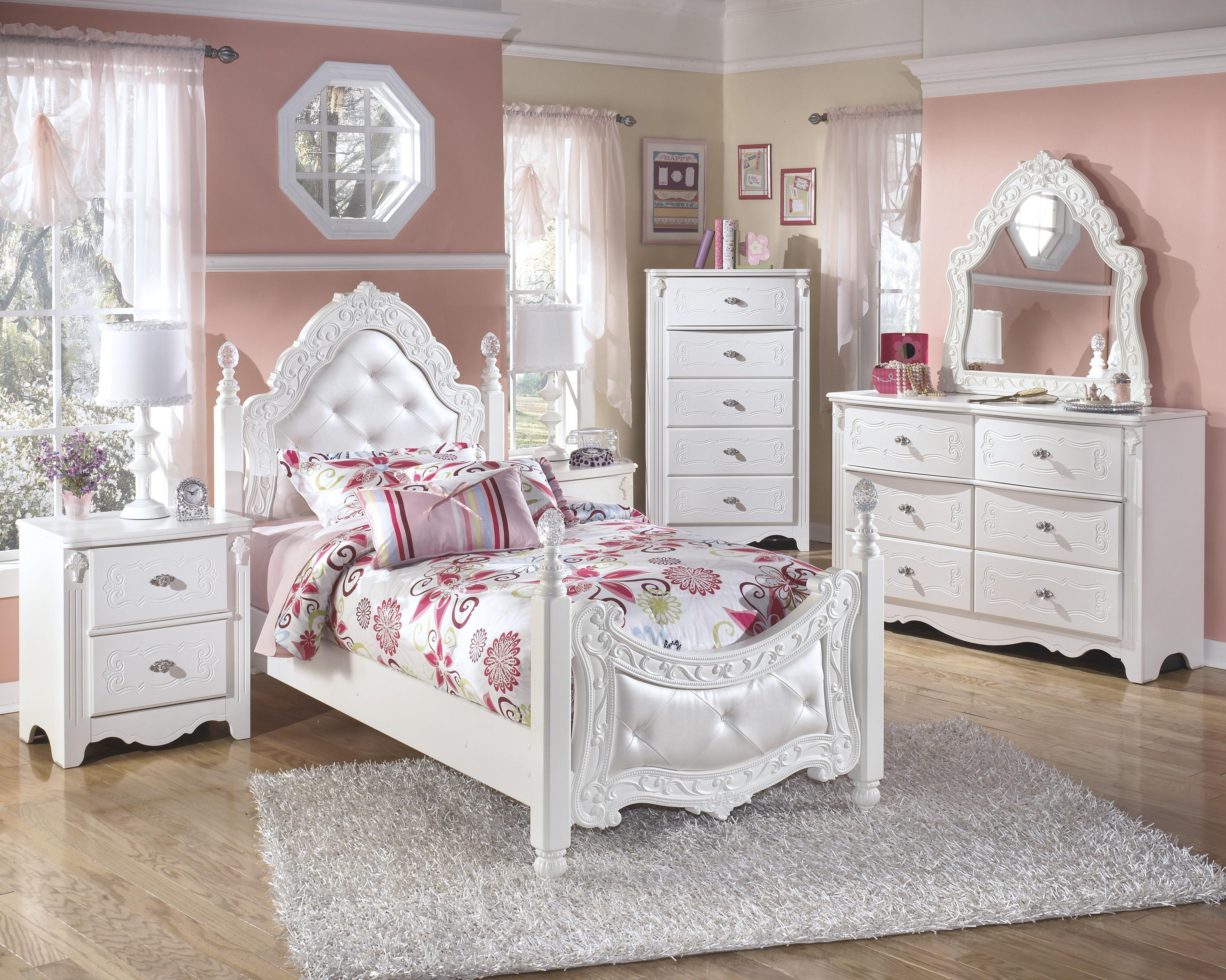 Signature Design by Ashley Exquisite Twin Bedroom Group - Item Number: B188 T Bedroom Group 3