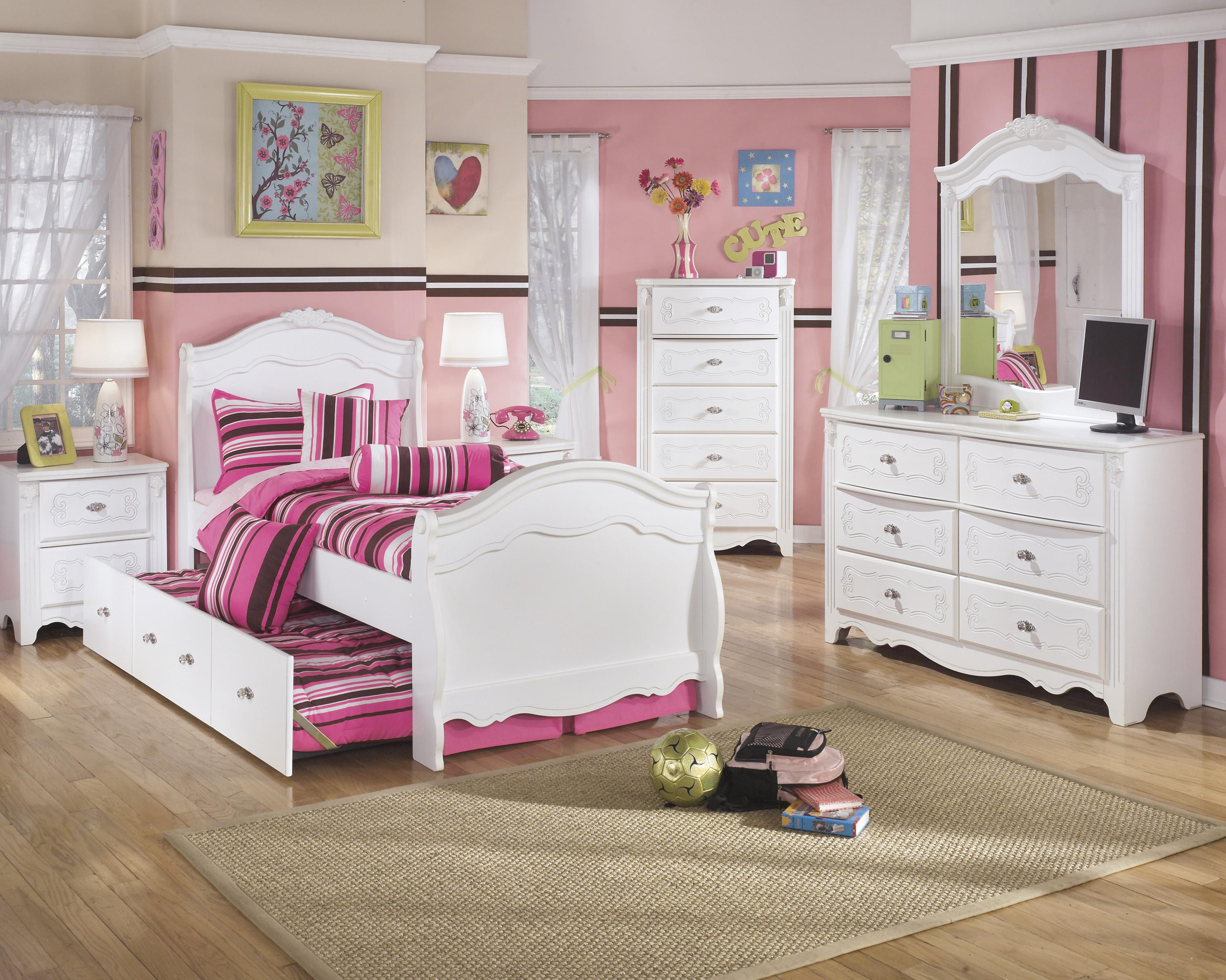 Signature Design by Ashley Exquisite Twin Bedroom Group - Item Number: B188 T Bedroom Group 4