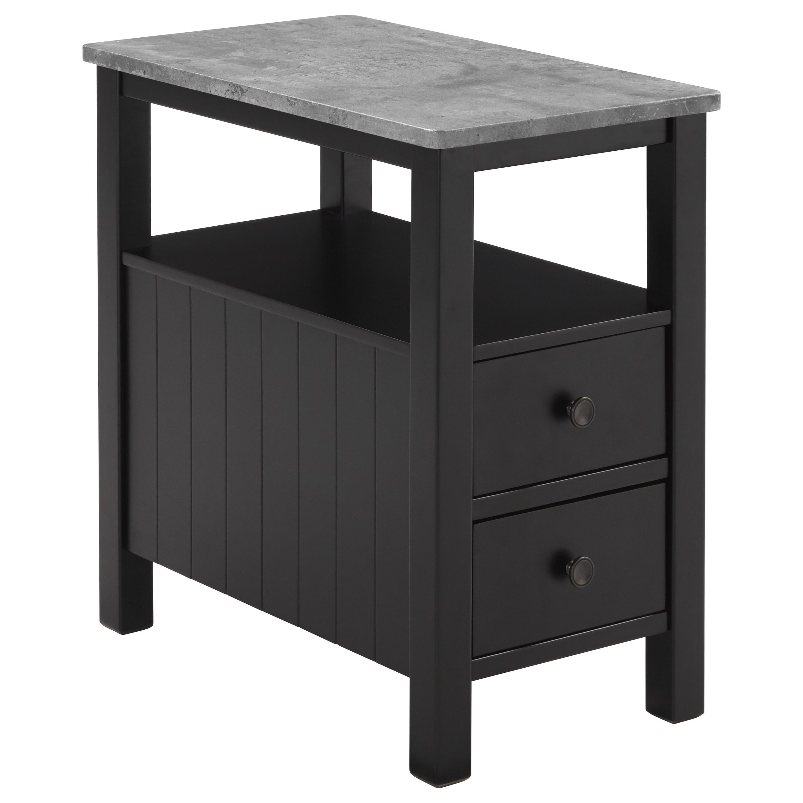 Signature Design by Ashley Ezmonei Chair Side End Table - Item Number: T341-7