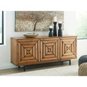 Signature Design by Ashley Fair Ridge Contemporary 3-Door Accent Cabinet