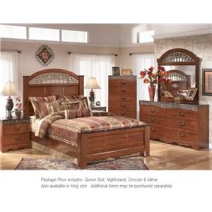 Signature Design by Ashley Fairbrooks Estate Qn Bedroom Group