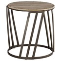 Signature Design by Ashley Fathenzen Round End Table - Item Number: T536-6