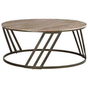 Signature Design by Ashley Fathenzen Round Cocktail Table